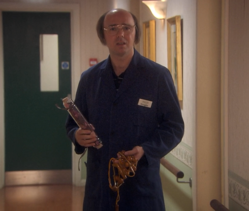 Derek - S1 - E4 - Doug's Prizes for the jumble sale