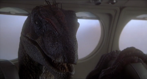Jurassic Park 3 - Alan Raptor